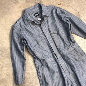 Vintage coveralls/jumpsuit, Key Imperial Brand